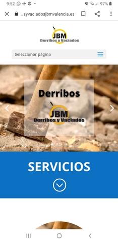 DERRIBOS,  DESESCOMBRADOS Y DEMOLICIONES - foto 1