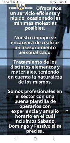 DERRIBOS,  DESESCOMBRADOS Y DEMOLICIONES - foto 3