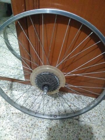 Rueda Trasera Bicicleta