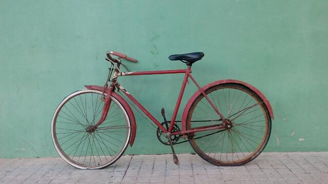 Antigua Bicicleta Española Hecha Para Du