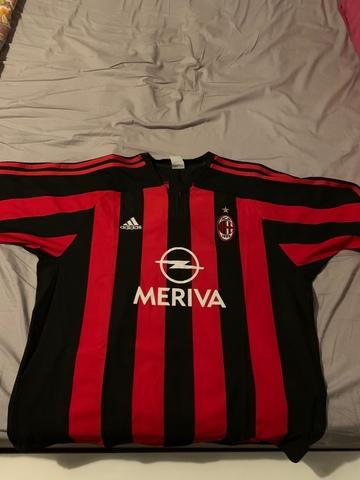 Camiseta Ac Milan 2003-04
