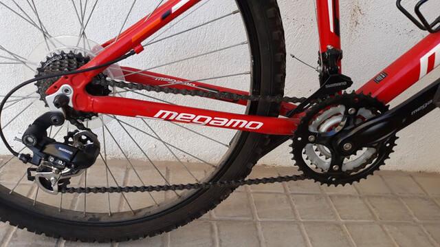 BICICLETA MEGAMO OPEN REPLICA 26 TALLA S - foto 4
