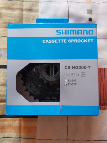 CASSETTE DE 7V SHIMANO - foto 1