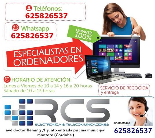 REPARACIÓN DE ORDENADORES EN CORDOBA .  - foto 1