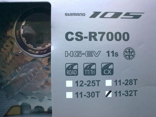 CASSETTE Y CADENA SHIMANO 105 11V.  - foto 2