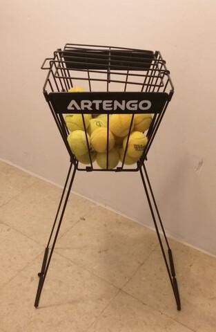 Cesta Pelotas Entrenamiento Tenis-Padel