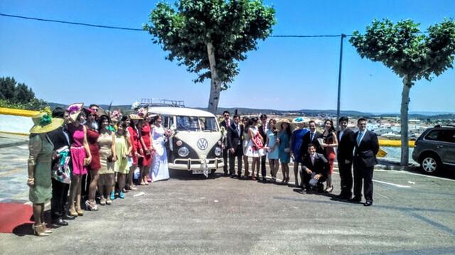 FURGO VW T1 T2 PARA BODAS Y SERVICIOS - foto 6