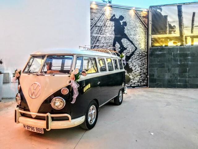 FURGO VW T1 T2 PARA BODAS Y SERVICIOS - foto 9