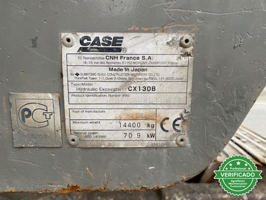 CASE CX130B - foto 4