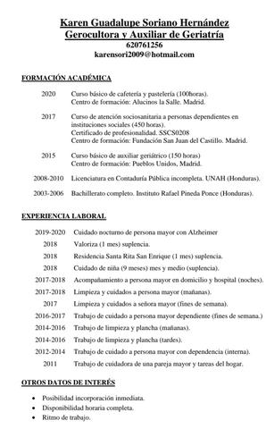 AUXILIAR GERIÁTRICO Y SOCIOSANITARIO - foto 1