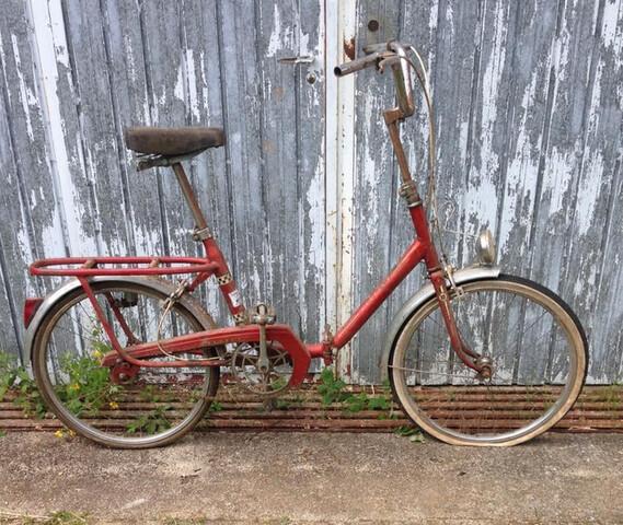 Bicicleta Plegable Peugeot Años 70