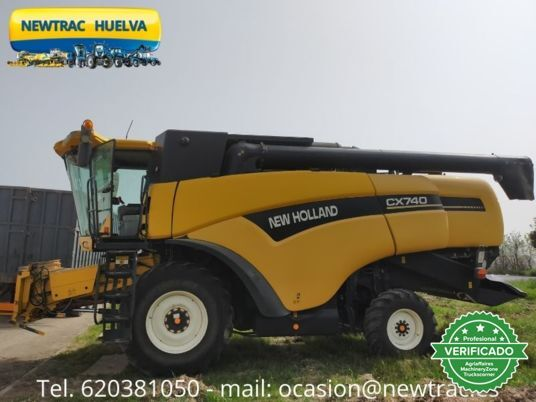 NEW HOLLAND CX 740 - foto 4