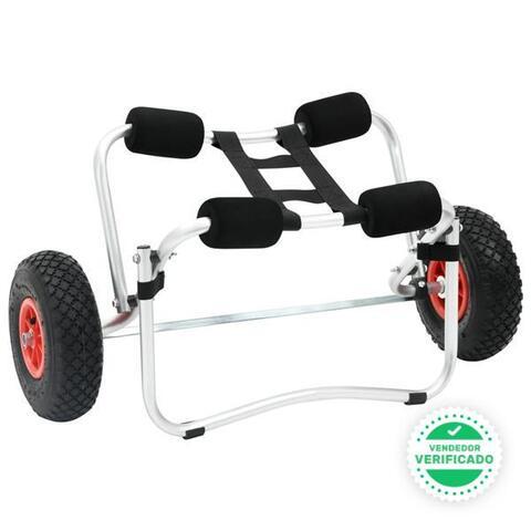 Carrito Kayak Aluminio