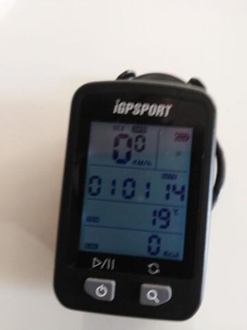 Reloj De Bicicleta.