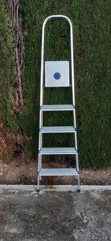 Escalera 5 Peldaños Aluminio