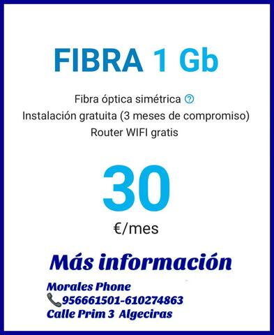 FIBRA DIGIMOBIL EN ALGECIRAS - foto 1