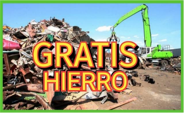 GRATIS RECOGIDA DE CHATARRA - foto 1