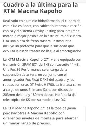 KTM KAPOHO 271 2018.  1700KM - foto 6