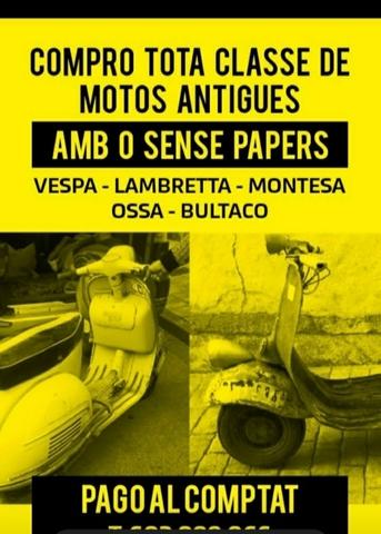 VESPA - LAMBRETTAS - foto 1