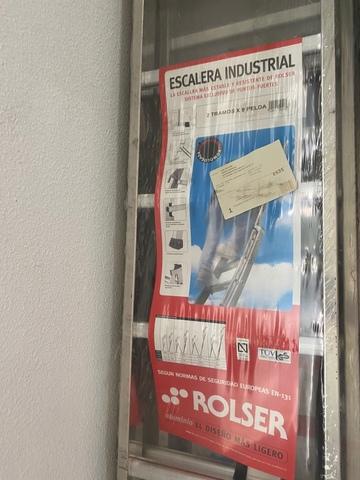 Escalera Rolser 2 Tramos X 9 Peldaños