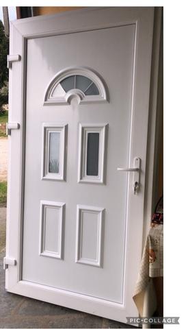 Puertas De Entrada Nuevas De Pvc A 580