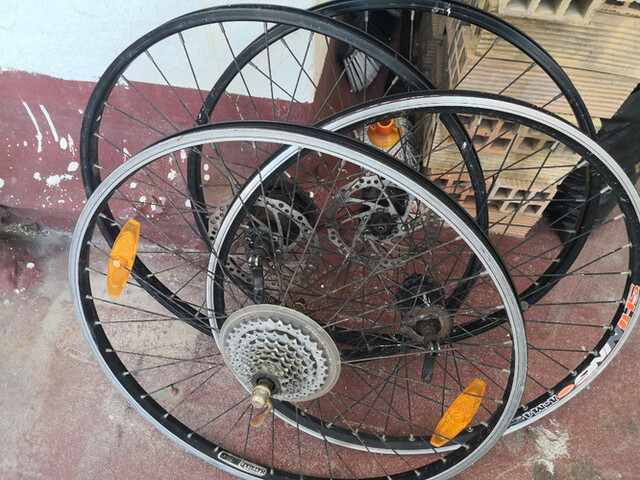 Ruedas Y Llantas 26 4 De Bicicleta