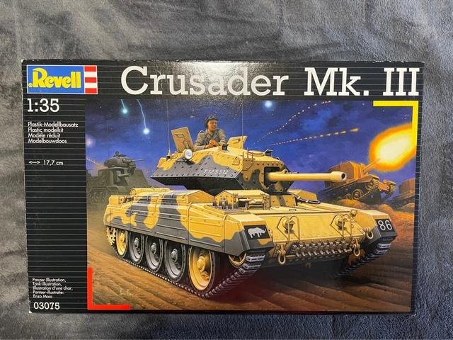 CRUSADER MK. III BRITISH TANK 1: 35 03075 - foto 1