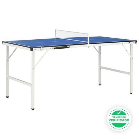 Mesa Ping Pong Red Azul 152X76X66 Cm