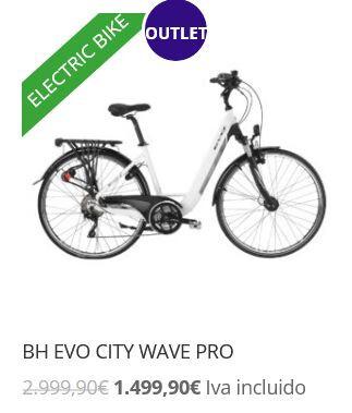 BICICLETA ELECTRICA BH EVO CITY WAVE PRO - foto 2