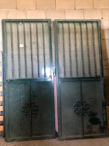 Se Vende Puerta Hierro Dos Hojas