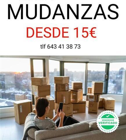 MUDANZAS DESDE 15  FINES DE SEMANA INCLU - foto 1