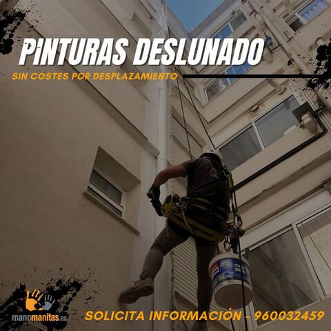 PINTURA DESLUNADO TRABAJOS EN ALTURA - foto 1
