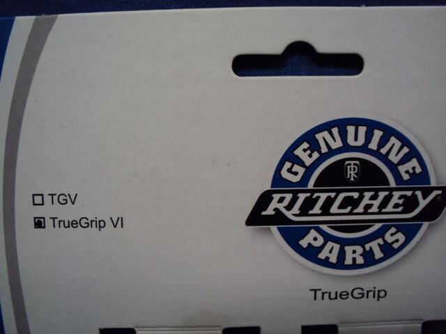 NUEVO.  PUÑOS RITCHEY TRUE GRIP VI NEGRO - foto 2