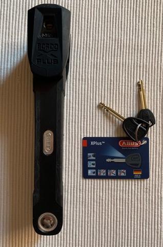 CANDADO ABUS BORDO GRANIT XPLUS 6500/110 - foto 5