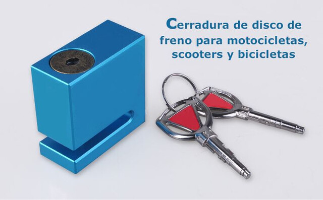 CERRADURA DE DISCO DE FRENO DE BICICLETA - foto 1