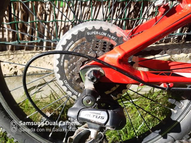 BICICLETA ORBEA XM 20 ROJA - foto 4
