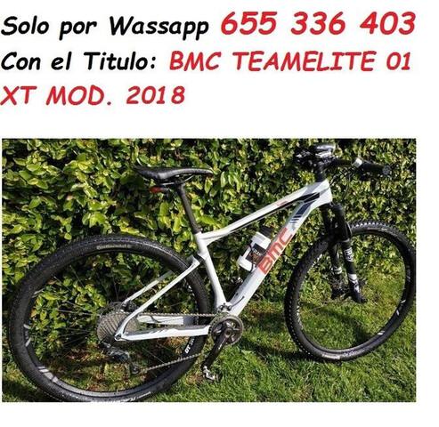 BMC TEAMELITE 01 XT MOD.  2018 NUEVA MTB - foto 1