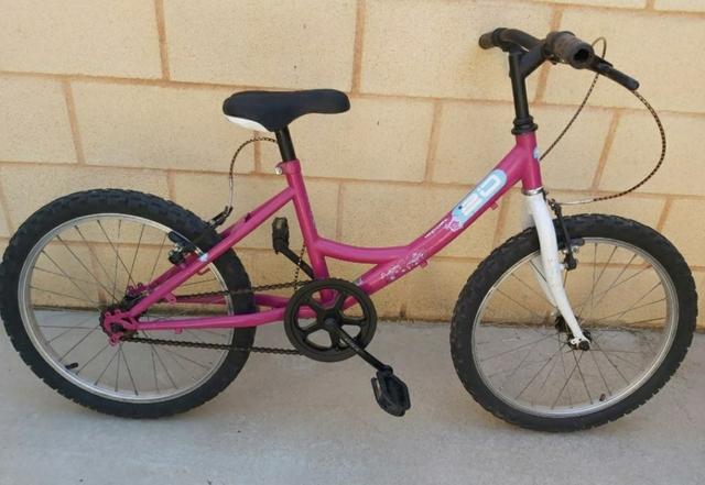 Bicicleta De Niña 20 Pulgadas