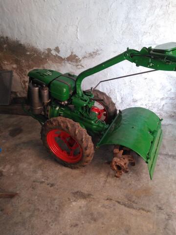 VENDO MOTOCULTOR AGRIA 1700 DIESEL 4T - foto 1