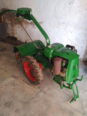 VENDO MOTOCULTOR AGRIA 1700 DIESEL 4T - foto 2