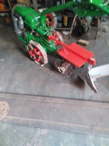 VENDO MOTOCULTOR AGRIA 1700 DIESEL 4T - foto 6