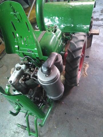 VENDO MOTOCULTOR AGRIA 1700 DIESEL 4T - foto 8