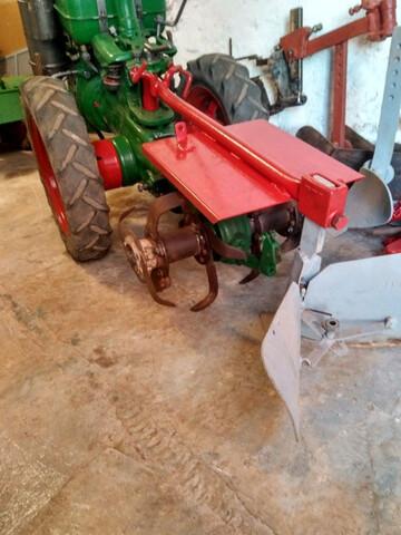 VENDO MOTOCULTOR AGRIA 1700 DIESEL 4T - foto 9