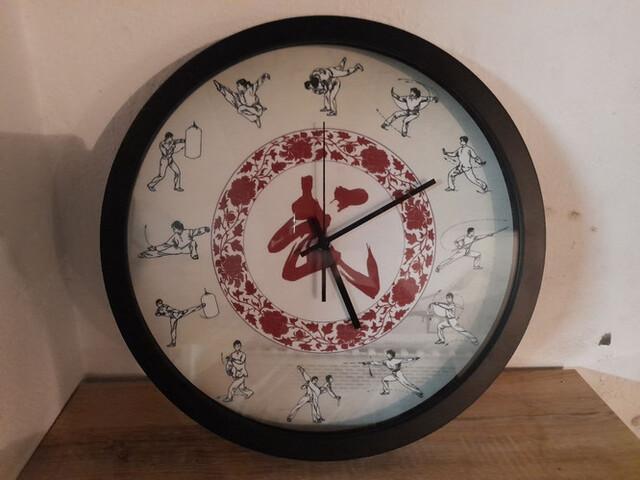 Reloj Artes Marciales