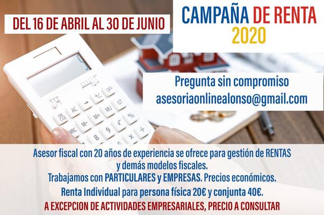 DECLARACIÓN DE RENTA ECONÓMICA 2020 - foto 1