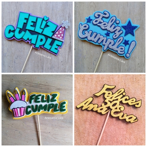 TOPPERS PERSONALIZADOS - foto 2