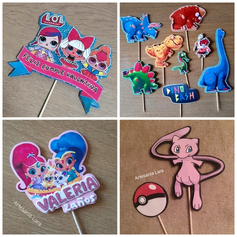 TOPPERS PERSONALIZADOS - foto 4
