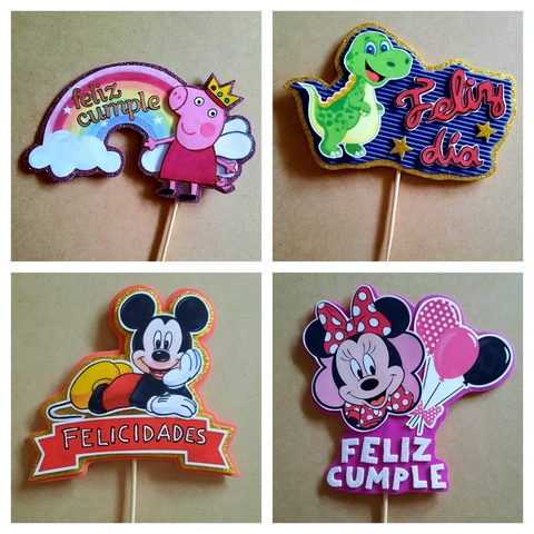 TOPPERS PERSONALIZADOS - foto 3