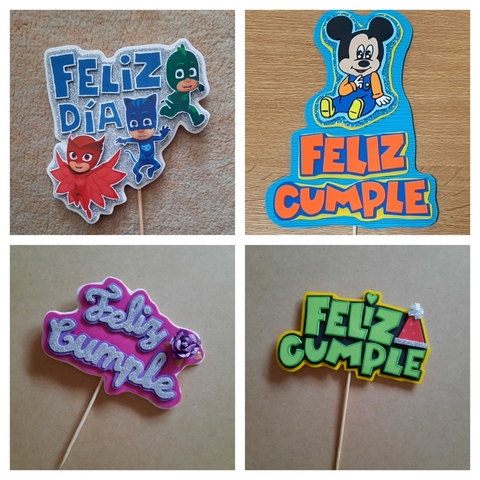 TOPPERS PERSONALIZADOS - foto 5