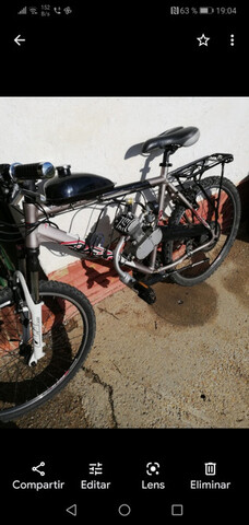 Bicicleta A Motor De Gasolina